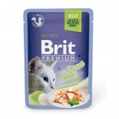 Brit Premium Cat Trout Fillets Jelly 0,085 кг