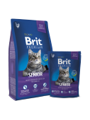 Brit Premium Cat Senior 0,8 кг
