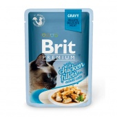 Brit Premium Cat Chicken Fillets Gravy 0,085 кг