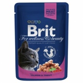 Brit Premium Cat Salmon & Trout 0,1 кг