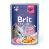 Brit Premium Cat Chicken Fillets Jelly 0,085 кг