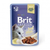 Brit Premium Cat Beef Fillets Gravy 0,085 кг
