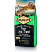 Carnilove Dog Adult Fresh Carp & Trout 12 кг