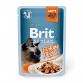 Brit Premium Cat Turkey Fillets Gravy 0,085 кг