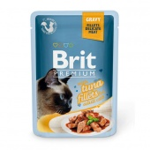 Brit Premium Cat Tuna Fillets Gravy 0,085 кг