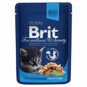 Brit Premium Cat Kitten Chicken 0,1 кг