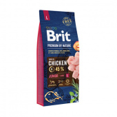 Brit Premium Junior S Chicken 3 кг