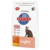 Hill's Science Plan Feline Adult Light Chicken 0,3 кг