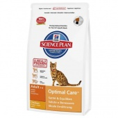 Hill's Science Plan Feline Adult Optimal Care Chicken 15 кг