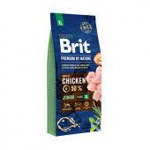 Brit Premium Junior XL Chicken 15 кг