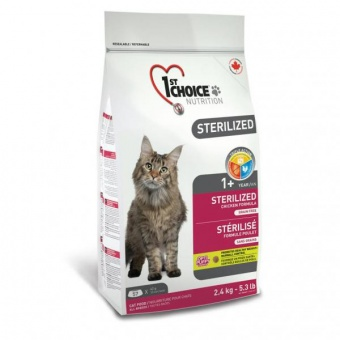 1st Choice Sterilized 2,4 кг