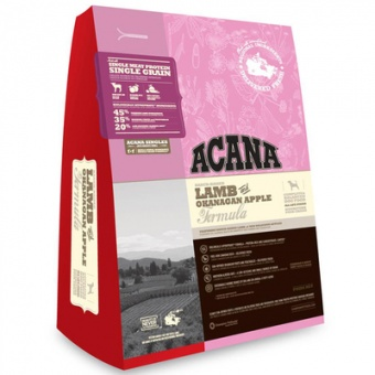 Acana Lamb & Okanagan Apple 11,4 кг