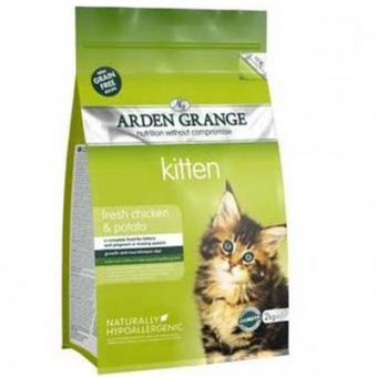 Arden Grange Kitten Fresh Chicken & Potato 8 кг