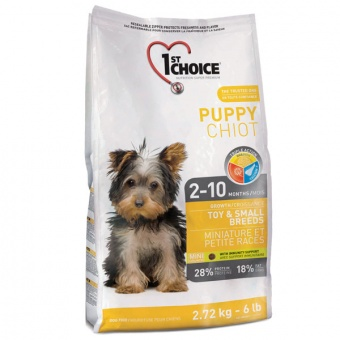 1st Choice Toy & Small Breeds Puppy 2,72 кг