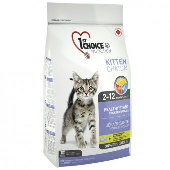 1st Choice Healthy Start Kitten 0,35 кг