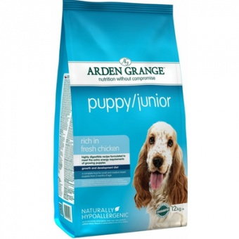 Arden Grange Puppy/Junior Rich In Fresh Chicken 6 кг