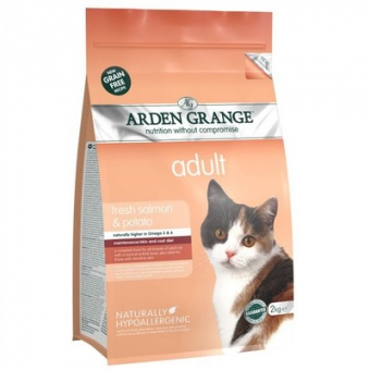 Arden Grange Adult Cat Fresh Salmon & Potato 0,4 кг