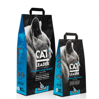 Cat Leader Clumping Ultra Compact 2 кг