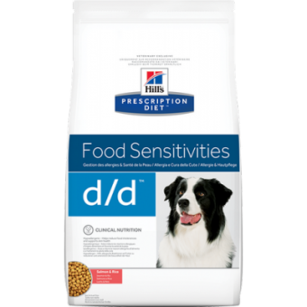 Hill's Prescription Diet Canine d/d Salmon & Rice 2 кг