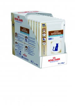 Royal Canin Gastro Intestinal Moderate Calorie Feline Pouches 0,1 кг