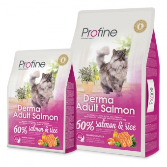 Profine Cat Derma Adult Salmon 0,3 кг
