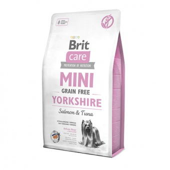 Brit Care Grain-free Mini Yorkshire Salmon & Tuna 2 кг