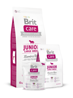 Brit Care Junior Large Breed Lamb & Rice 1 кг