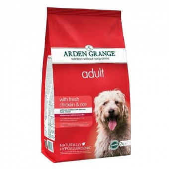Arden Grange Dog Adult With Fresh Chicken & Rice 6 кг
