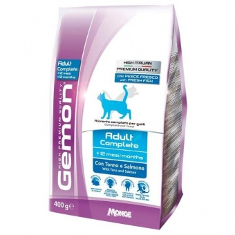 Gemon Adult Complete Tuna & Salmon 0,4 кг