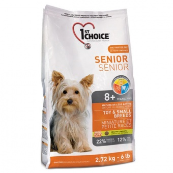 1st Choice Senior Toy & Small Breeds 7 кг